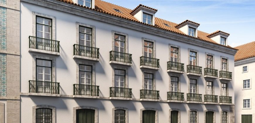 Building with 1 Bedroom flats for sale in Lisbon, Portugal