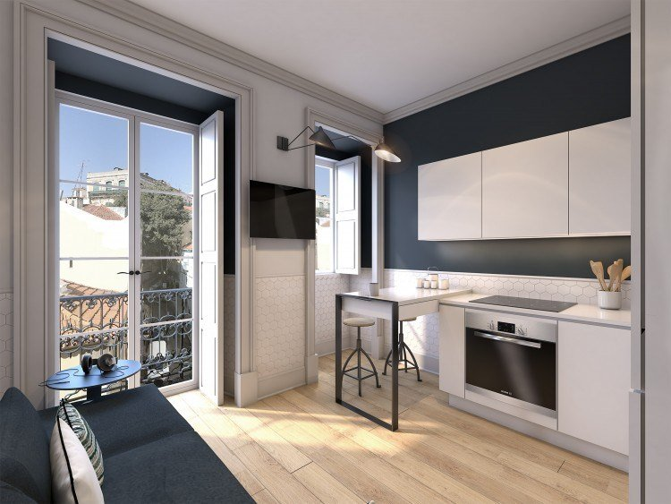 Flat investment in Lisbon Portugal