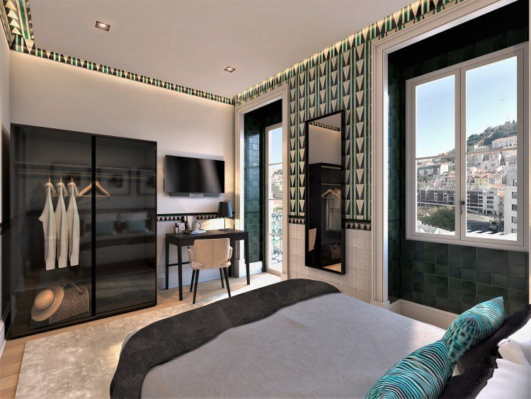 Rossio square apartments in Lisbon 2-bed-apartment