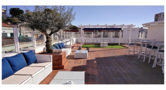 2 Apartments now 9 suite guest house and HUGE 250 sqm RARE roof terrace Av Liberdade views