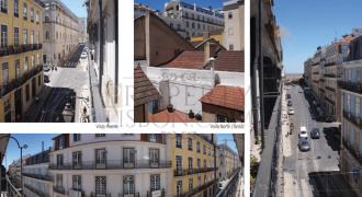 2 Lisbon Apartment same floor elevator for sale, Chiado