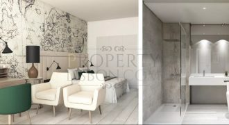 Beach resort investment in Lisbon Portugal – 2 Bedrooms 395,000 euro with 7% NET rental contract for 15 years