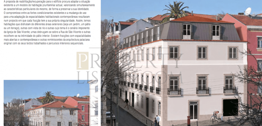 Lisbon Palace/Building for sale Sao Vicente – 1800sqm