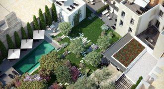Luxury Lisbon apartments near the river, with Luxury garden and pool – 430k – 1.2 million
