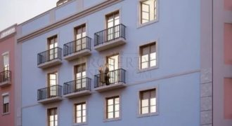 New development between Principe real and the Avenida da Liberdade