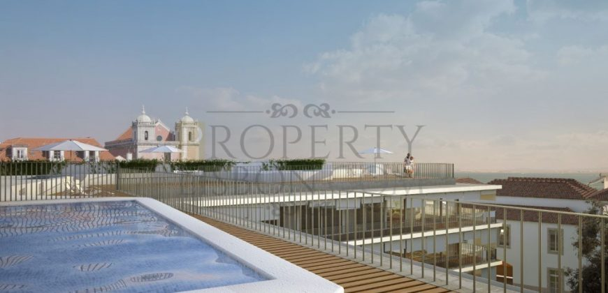 Palacio Luxury apartment in Santos with pool and 3 parking spaces