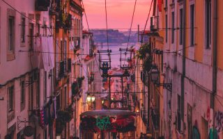 Vie nocturne au- Portugal