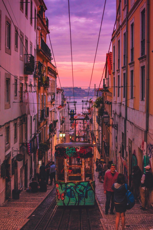 Nightlife in- Portugal