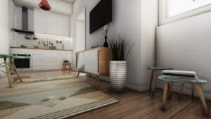 1+1 Bed Apartment- for sale in Lisbon, Portugal