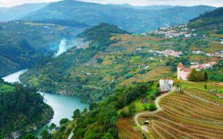 Introducción a los tours a lo largo del río- Duero en Portugal