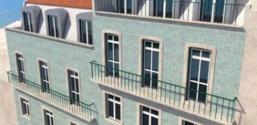 350,000 Euro Portugal Golden visa development in the city centre of Lisbon – €270,000 – €780,000
