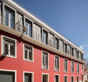Modern development between Principe real and the Avenida da Liberdade Lisbon   Apartments for sale from €347,000-€995,000
