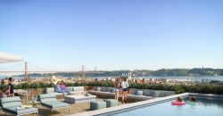 New development with swimming pools & gardens in Belem Lisbon coast | Apartments for sale from €500,000-€1,780,000