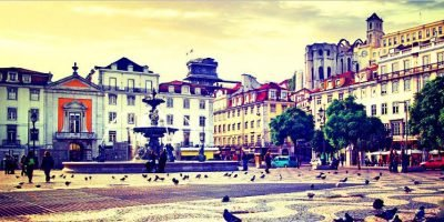 The Attractions of The Baixa District of Lisbon – The Rossio Square and The Rua Augusta