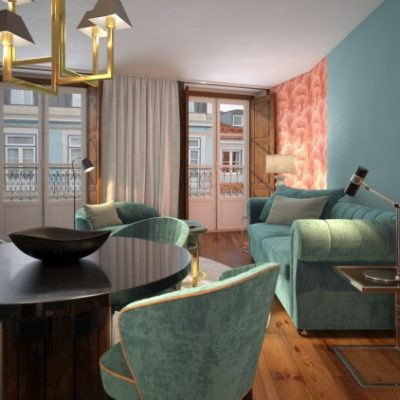 Brand new Chiado Lisbon apartments 1-2 beds from only 285,000