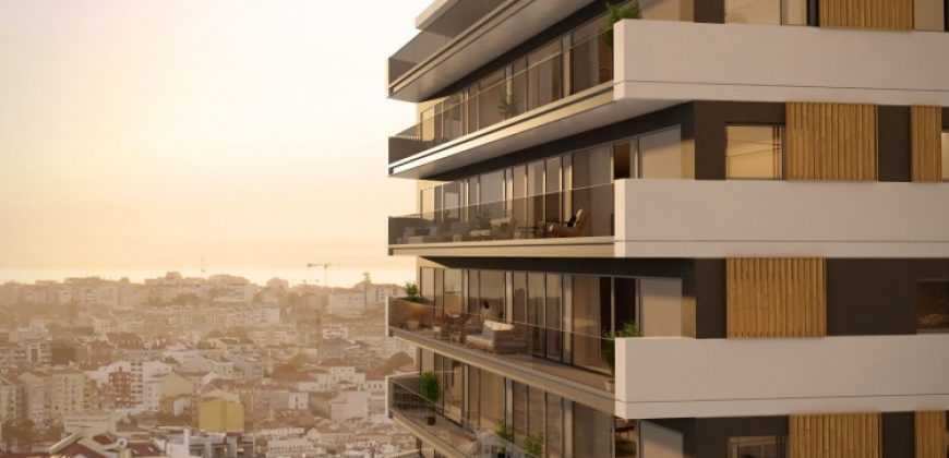 Luxury residence with pools and balconies just outside the Lisbon historic centre – €615,000-€3,850,000