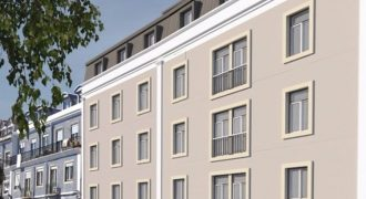 Reduced Golden visa project with views and secure parking in historic Lisbon