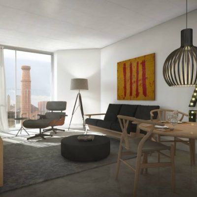 T1 4th floor with parking and view 350,000 Golden visa. Rental Guarantee of 4% net