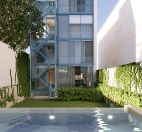 A truly secret garden with pool, far from the eyes of all. Lisbon apartments