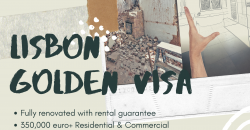 Lisbon COMMERCIAL PROPERTY – Guaranteed rent for 5 years