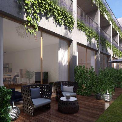 Oasis Saldanha parking, garden, terrace, storage and pool Lisbon apartments 55 apartments T0 to T4