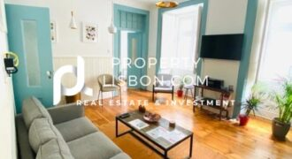 3 Bed Apartment in Lisbon city  – 740000€