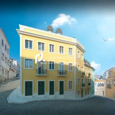 New Lisbon Studio with 5% Yield for the 350,000 Golden visa