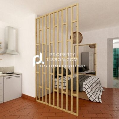 New 1 beds Lisbon Suitable for 350 Golden Visa with short-term rental license