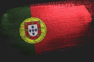 National flag of Portugal.