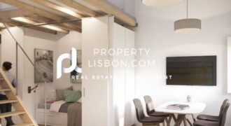1+1 Bed Apartment in Lisbon  – 355000€