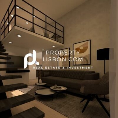2 Bed Building in Lisbon  – 365000€