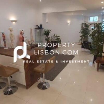 Commercial property in Lisbon  guaranteed yield of 4% for 5 years