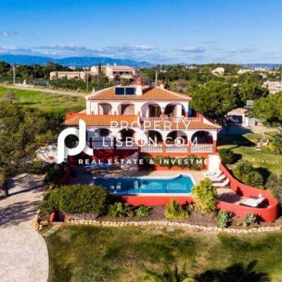 Incredible 5 bedroom and 5 bathroom luxury Villa in Algarve  – 1650000€