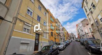 2 Bed Apartment in Penha de França in Lisbon – Needs work