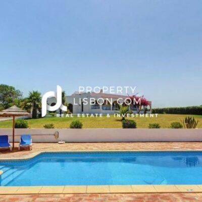 4 Bed Villa in Algarve  – 1200000€ Heated Pool and Incredible Views