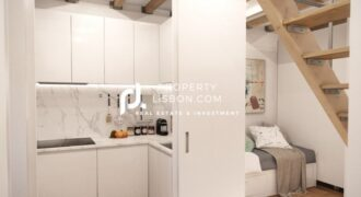 1+1 Duplex occupies a downtown Lisbon location  – 355000€ yield of 4% for 2 years