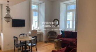 1 Bed Apartment in Lisbon Praça do Comercio and Chiado  – 595000€
