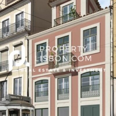 2 Bed Apartment in Lisbon eligible for the 350k Golden Visa   – 385000€