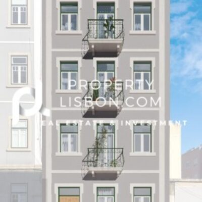 Fully refurbished building with historic preservation 3 Bed Apartment in Lisbon  – 395000€