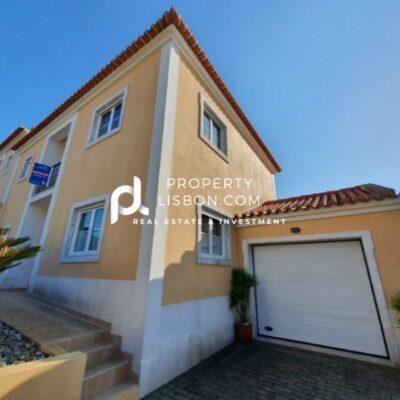 3 Bedroom Villa with garage and sea view Peniche Silver Coast – 179000€