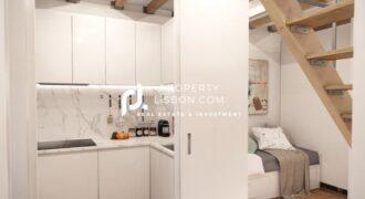 1+1 This charming Duplex occupies a downtown Lisbon  – 355000€