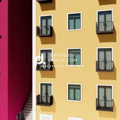 Golden Visa Apartments 300m From Chiado Lisbon  – 2 Bed  520000€